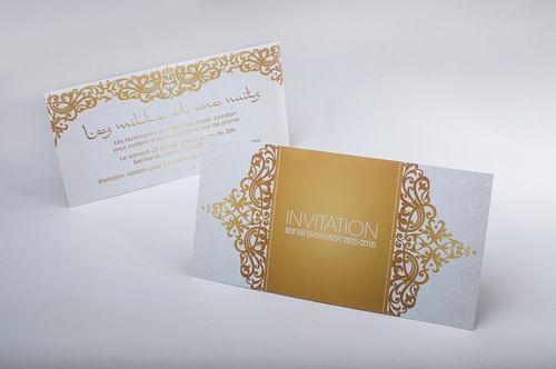 Invitation - Design & graphisme