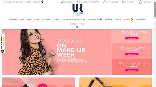 UR Cosmetics - Ecommerce de produits cosmétiques - E-commerce