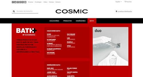 COSMIC - WEB CORPORATIVA - Estrategia digital