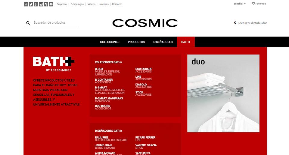 COSMIC - WEB CORPORATIVA