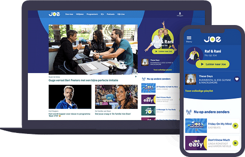 Website voor Joe België & Nederland - Website Creatie