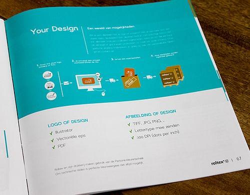 Corporate brochure - Ontwerp