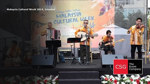 Malaysia Cultural Week 2014, Istanbul - Event