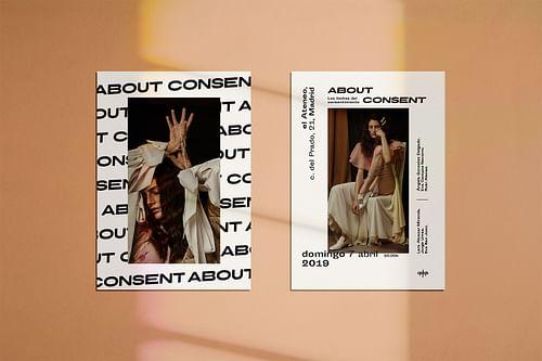 About Consent - Design & graphisme