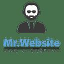 Mr. Website logo