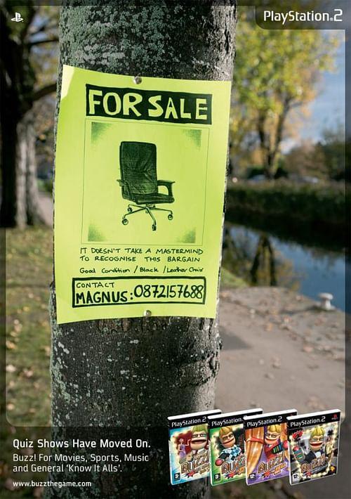 Chair - Publicidad