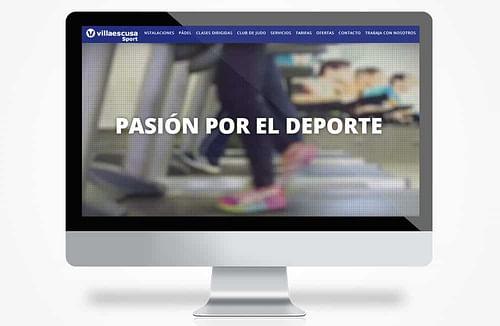diseño villa - Creación de Sitios Web