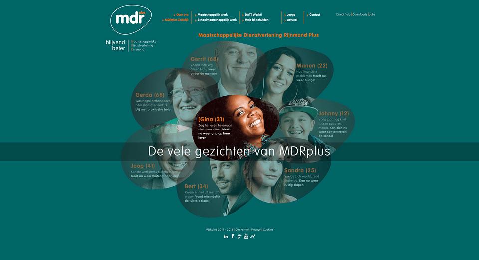 Branding en Positionering & Website MDR+