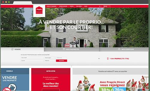 Proprio Direct - Website Creation