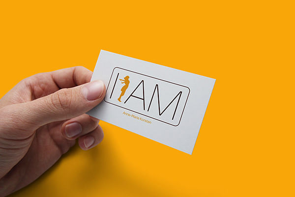 Logo en huisstijlontwikkeling I AM Coaching