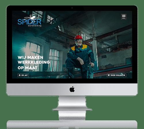 Webdesign + CMS - Website Creatie
