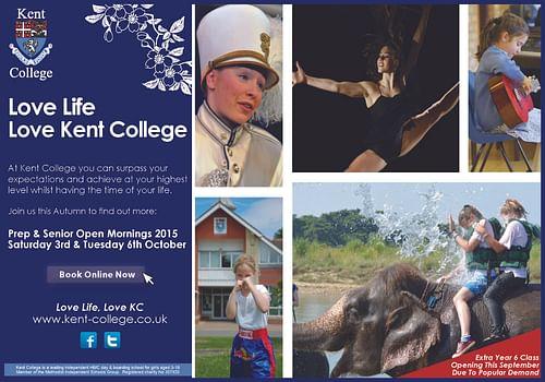 Kent College - Advertising