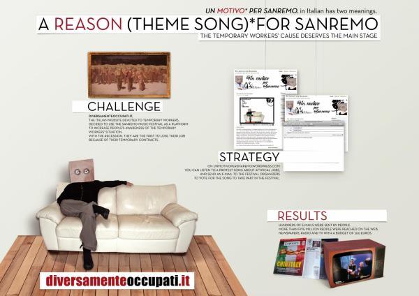 A REASON FOR SANREMO - Advertising