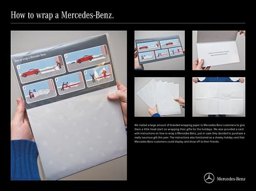 HOW TO WRAP A MERCEDES-BENZ - Advertising