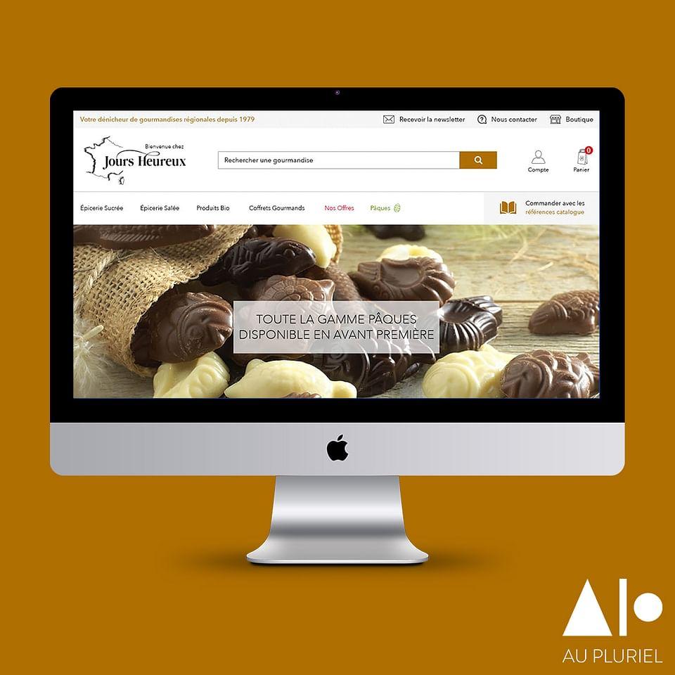 UI-UX design - Site web