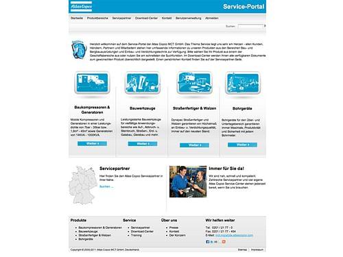 Atlas Copco - Grafikdesign