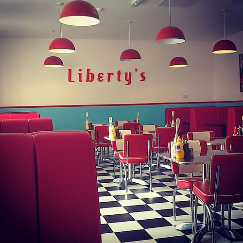 Liberty's American Diner - Advertising