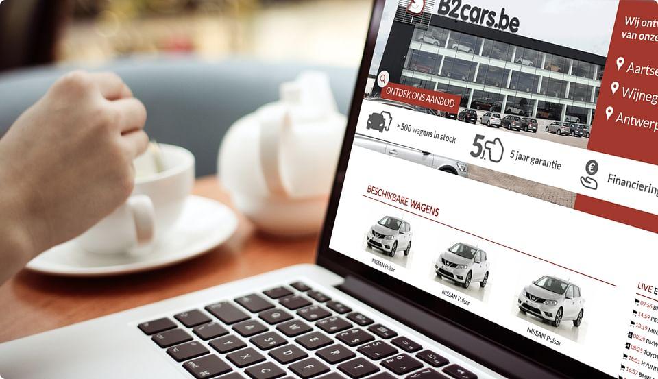 Design en Creatie Webapplicatie Beerens Group