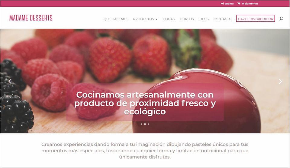 Ecommerce Madame Desserts