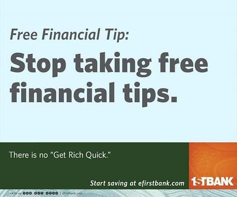 Free Financial Tip