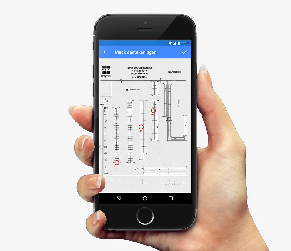 Maatwerk app 'veilig magazijn'