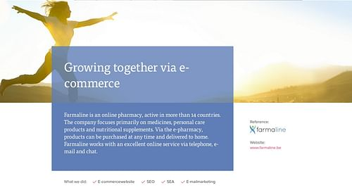 Farmaline : Growing together via e-commerce - Stratégie digitale