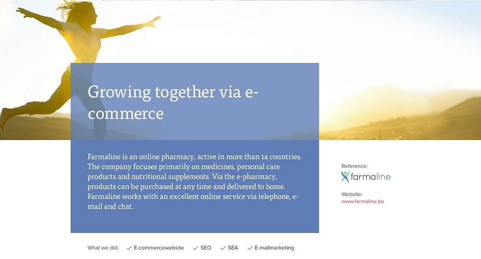 Farmaline : Growing together via e-commerce