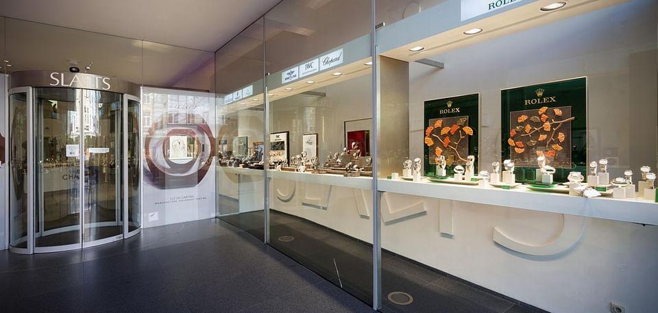Website voor Slaets Juwelen & Horloges