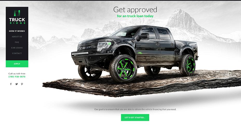 Truck Ridge Branding and Website Design