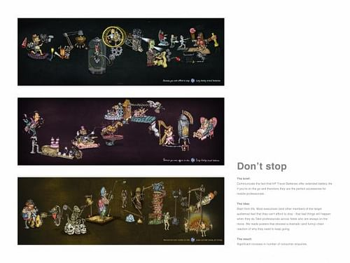 DON'T STOP - Advertising