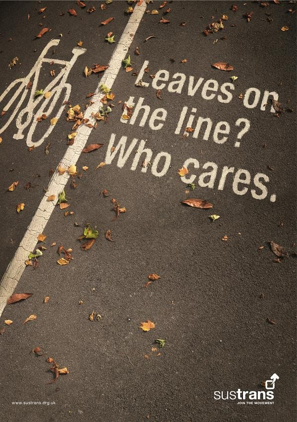 Leaves on the line? Who cares.
