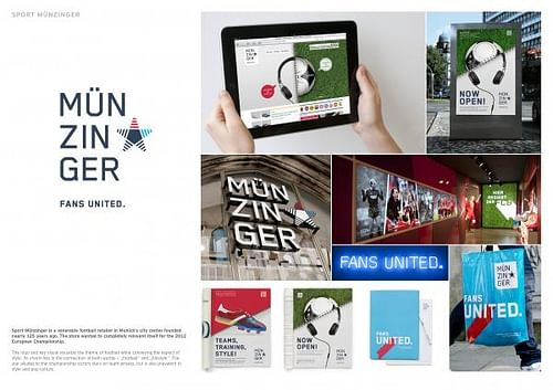 SPORT MÜNZINGER CD - Advertising