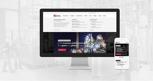 Aalberts Industries - Website Creatie