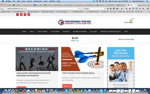 Eagle Insured Advisors - Blog Page - Branding & Positioning