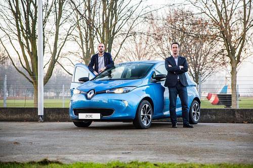 Branchez-vous pour découvrir Nouvelle Renault ZOE! - Réseaux sociaux