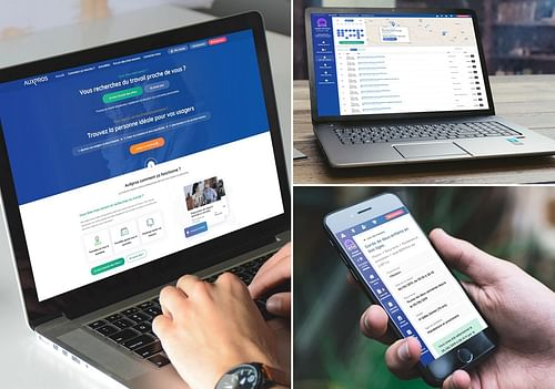 Auxpros.fr - Application web