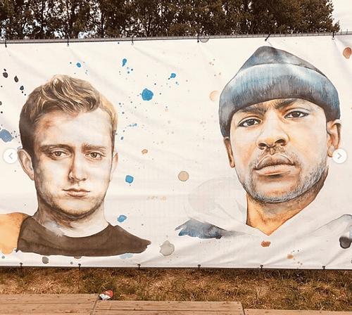 Scénographie Festival de Dour 2019 - Design & graphisme