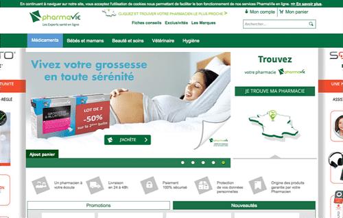 site e-commerte pharmavie - E-commerce