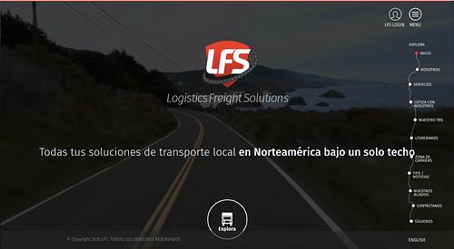 Logisitics Freight Solutions - Web Development - E-commerce