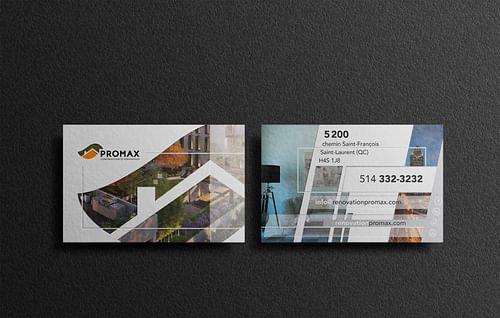 Projet PROMAX - Branding & Positioning