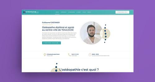 Un Ostéopathe en plein coeur de Toulouse - Référencement naturel