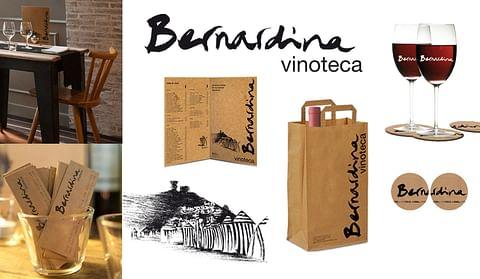 Diseño de logotipo, cartas, etc, para vinoteca