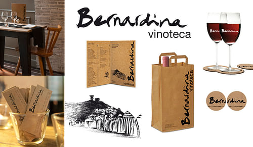 Diseño de logotipo, cartas, etc, para vinoteca - Diseño Gráfico