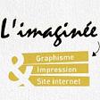L'imaginée graphisme logo