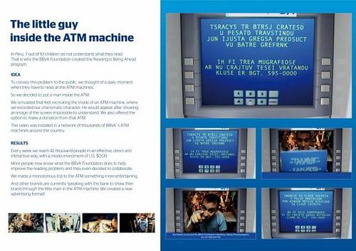 THE LITTLE GUY INSIDE THE ATM MACHINE - Publicidad Online