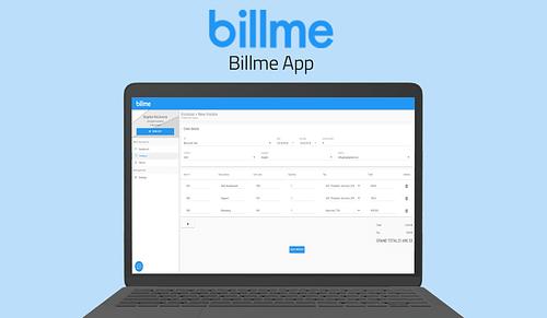 BillMe - Invoicing Platform - Website Creatie