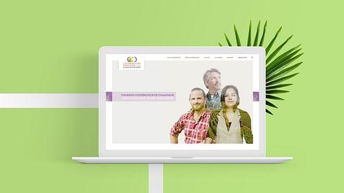 Définition du discours, site internet, branding - Création de site internet