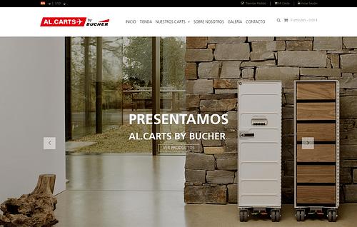 Al.Carts Página E-Comercio Madrid y USA - Creación de Sitios Web