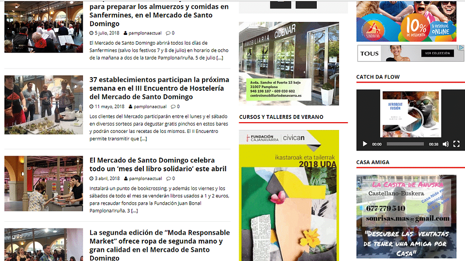 Estrategia digital  Mercado Municipal de Pamplona