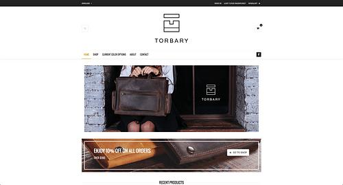 Torbary e-commerce and social media strategy - Création de site internet